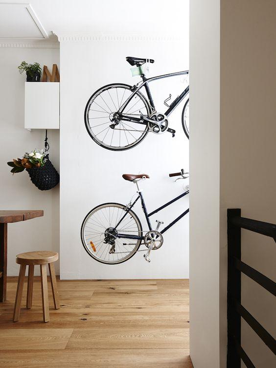 Хранение велосипедов дома
