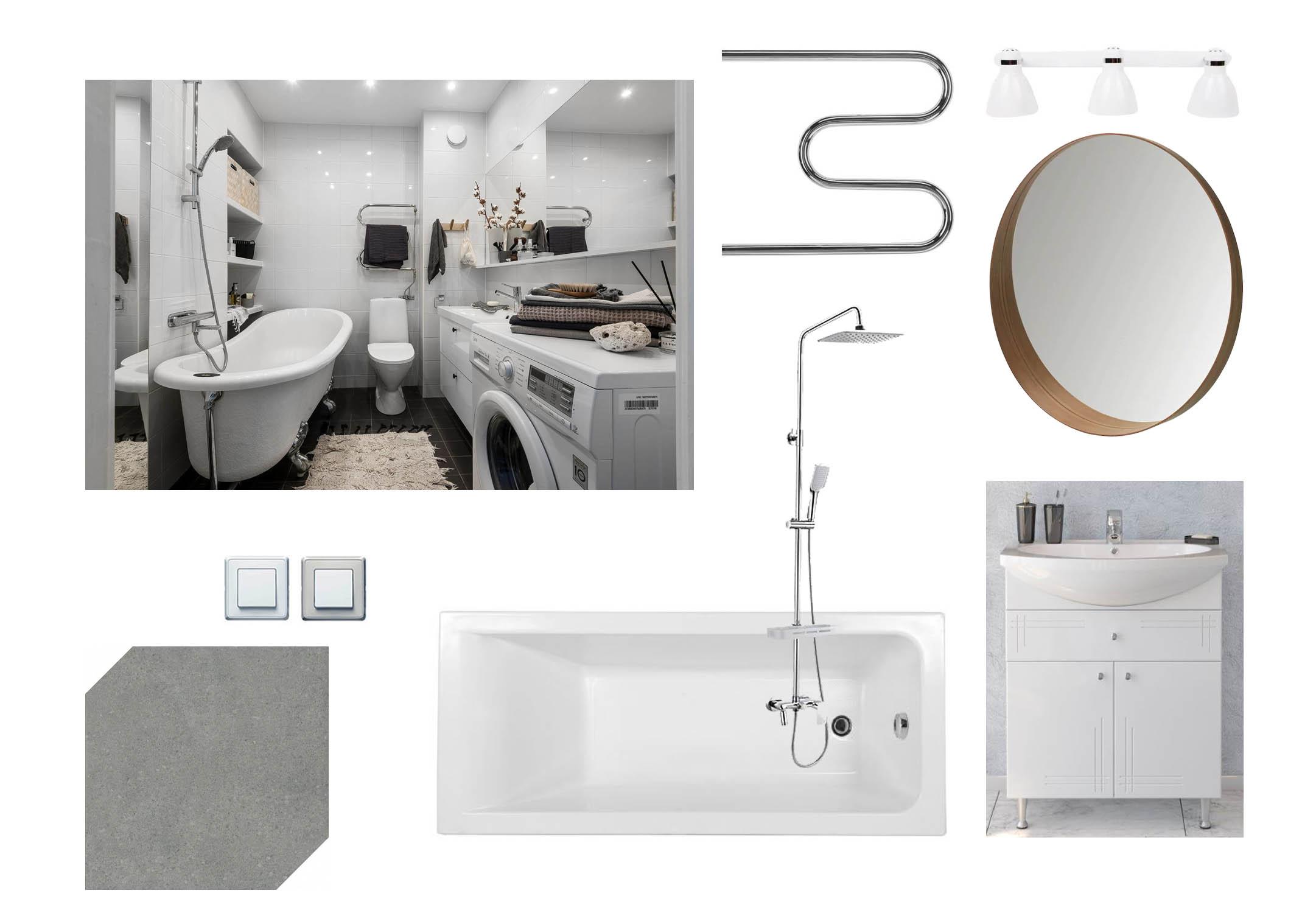 Мебель для ванной комнаты, которая необходима для покупки после ремонта