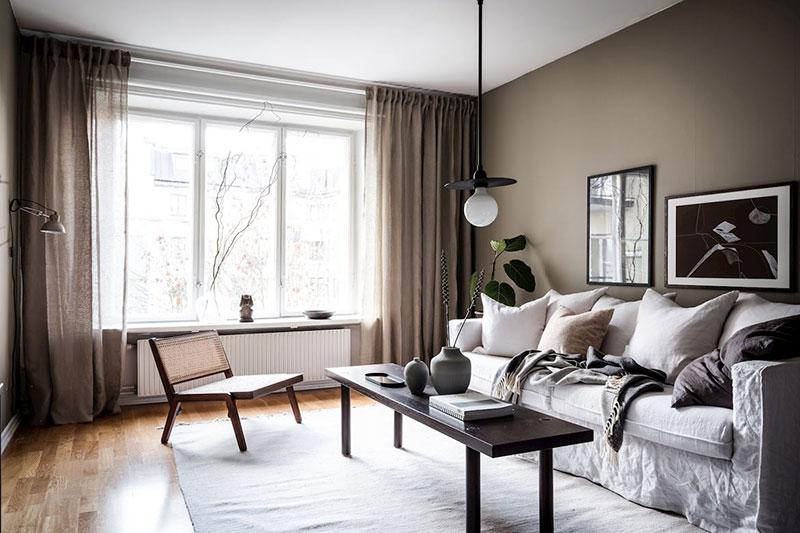 Использование текстиля в обустройстве комнаты