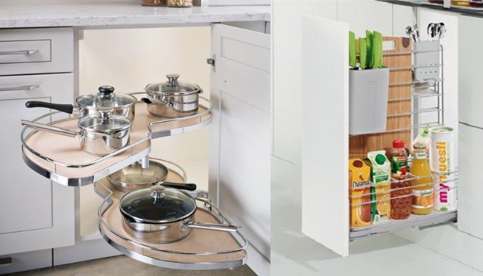 Система хранения кухонной посуды и аксессуаров