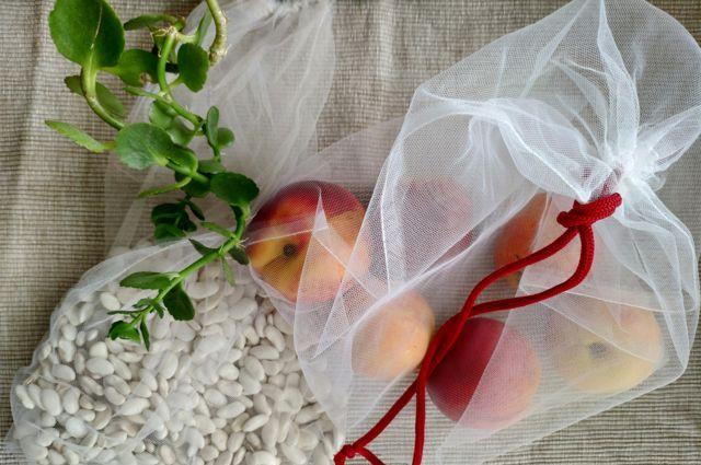 Тканевые сумки для продуктов