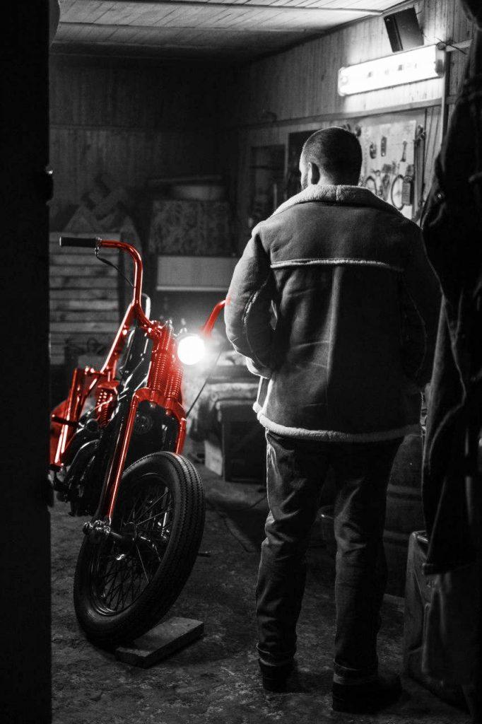 Хранение мотоцикла в гараже