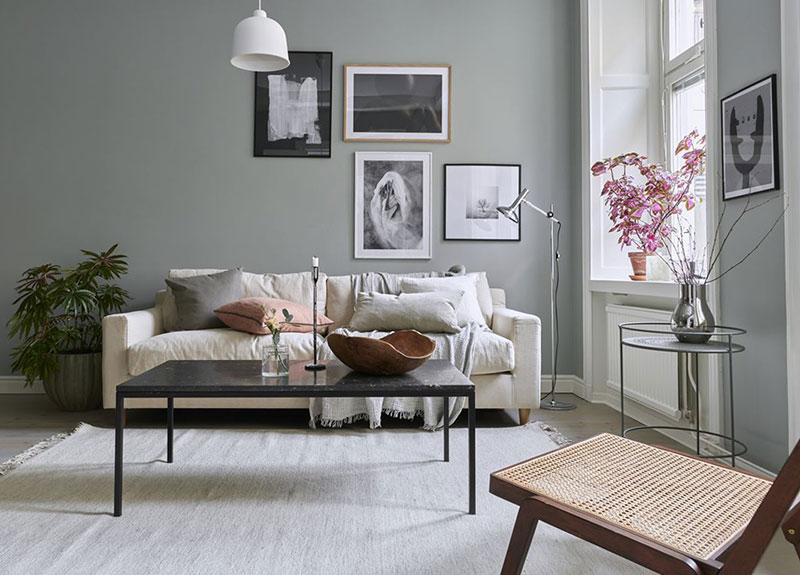 Комната с современным декором