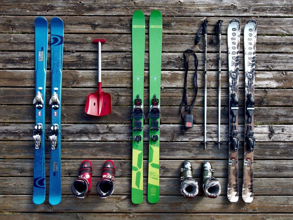 Инвентарь современного лыжника