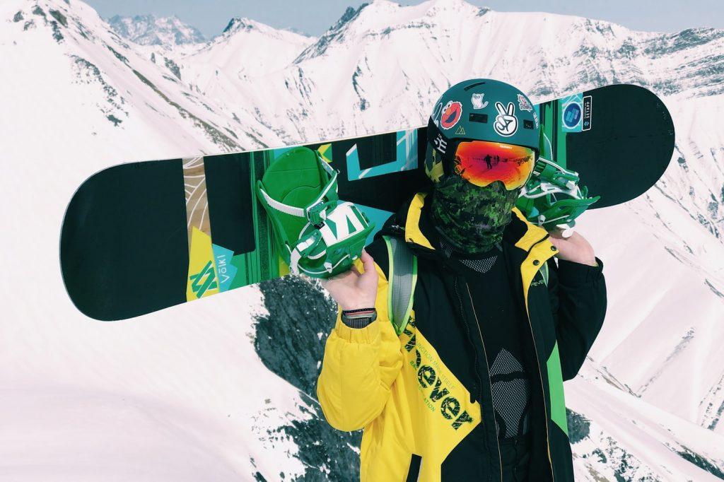 Современный сноубордист – фото 1