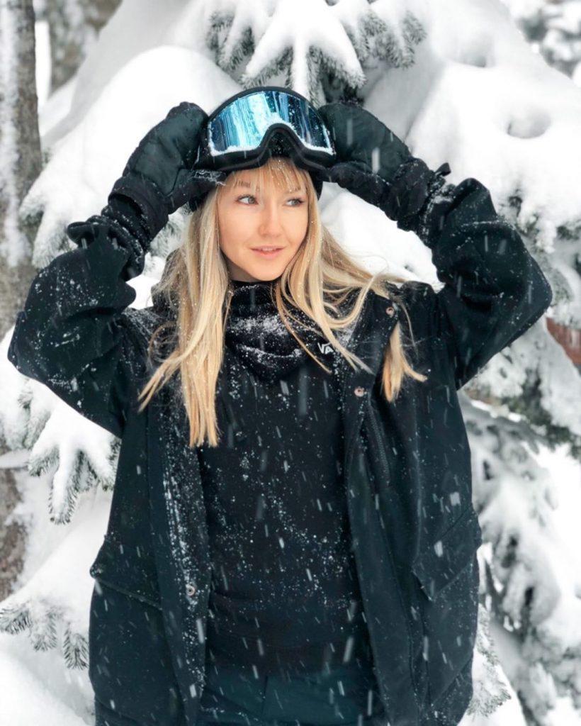 Кристина Кими – участница соревнований по сноубордингу