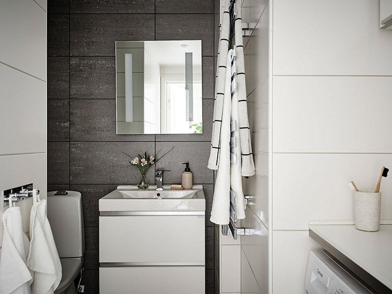Грамотное распределение необходимых бытовых средств в ванной комнате