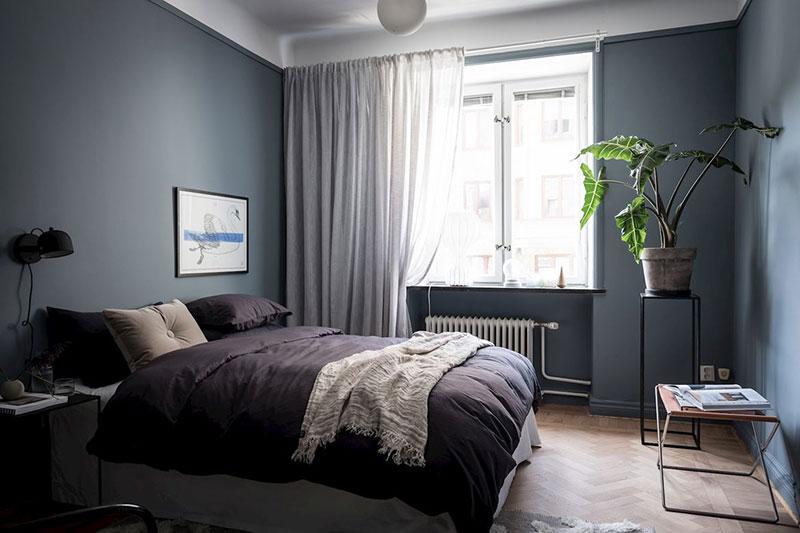 Спальня после проведения плановой уборки