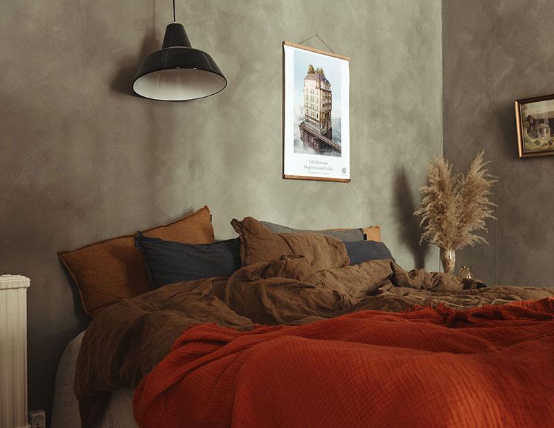 Уютный дизайн интерьера небольшой комнаты