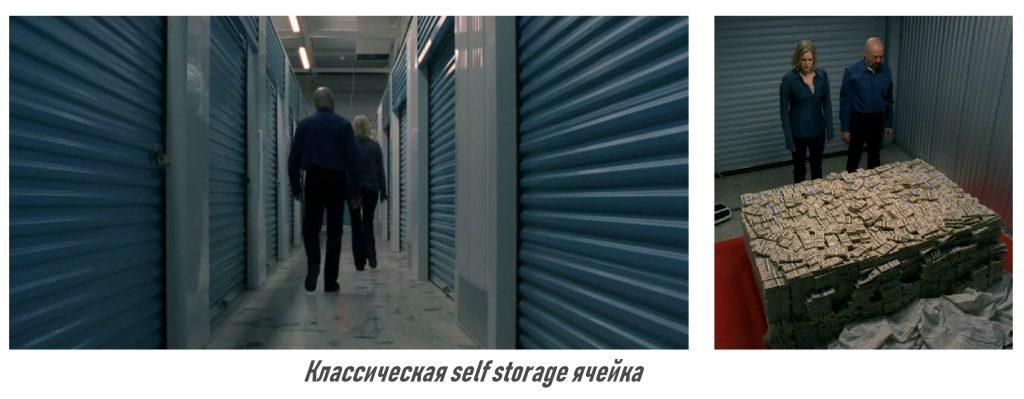 Классическая ячейка формата Self Storage