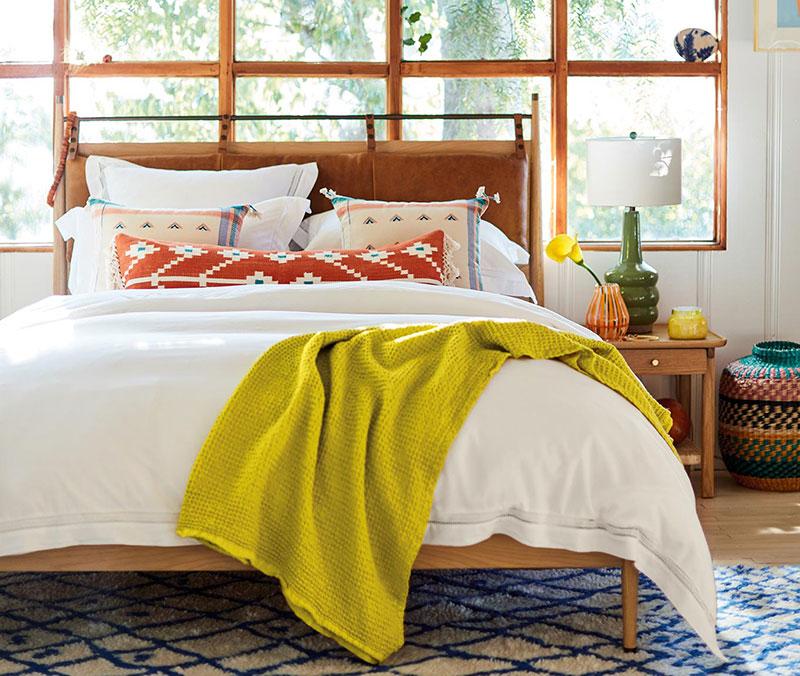 Чистая уютная комната без лишнего хлама