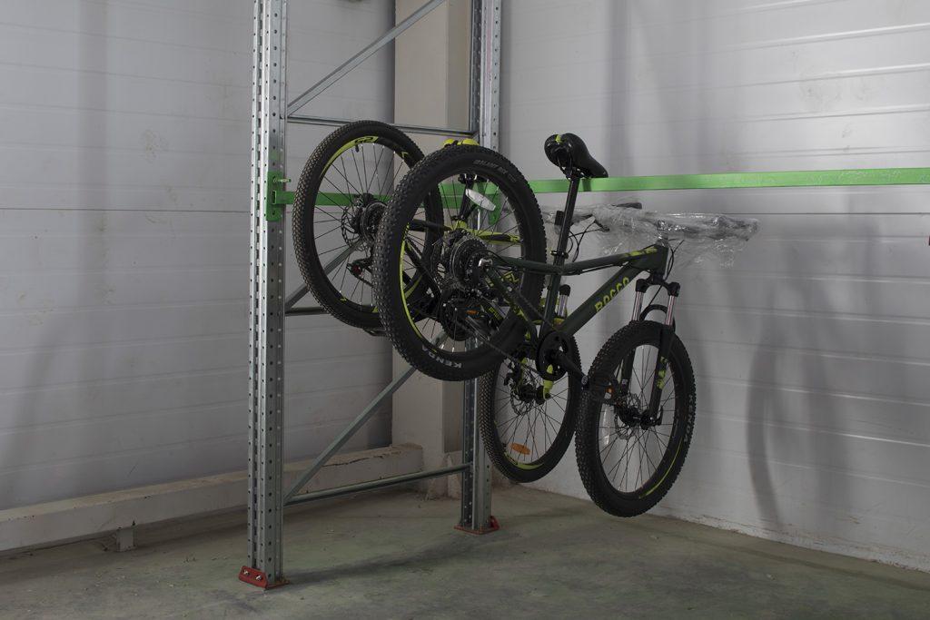 Так хранятся велосипеды на складе Чердака