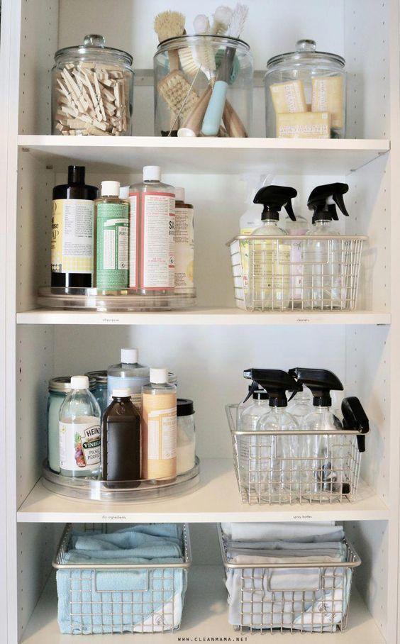 Система хранения моющих принадлежностей