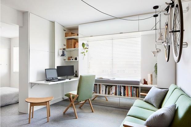 Как организовать удобное рабочее место (даже в маленькой квартире)