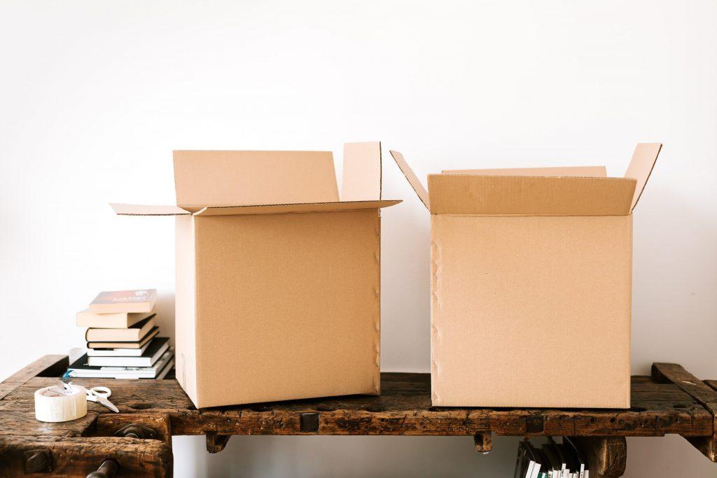 Материалы для упаковки вещей