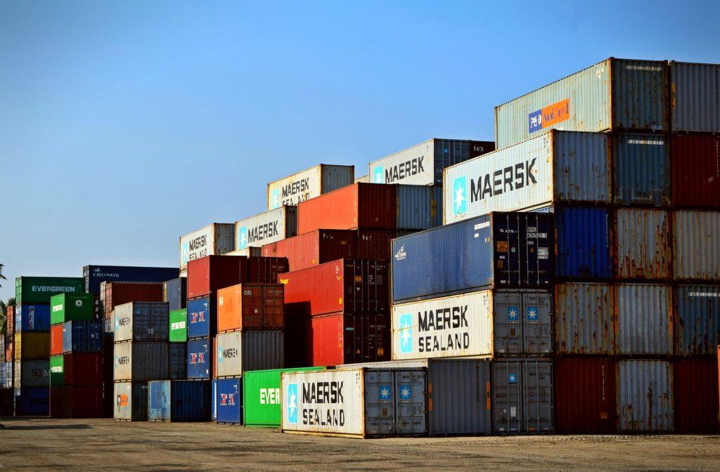 Современные морские контейнеры