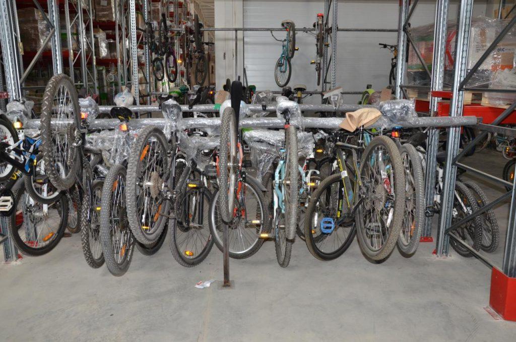 Велосипеды на складе Чердака