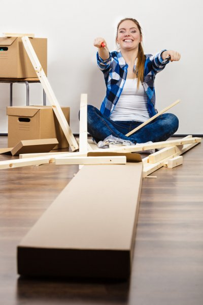 Сборка мебели на новом месте