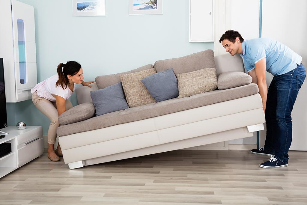 Погрузка мебели