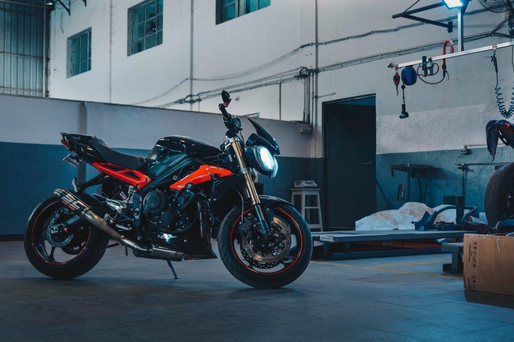 Современный мотоцикл