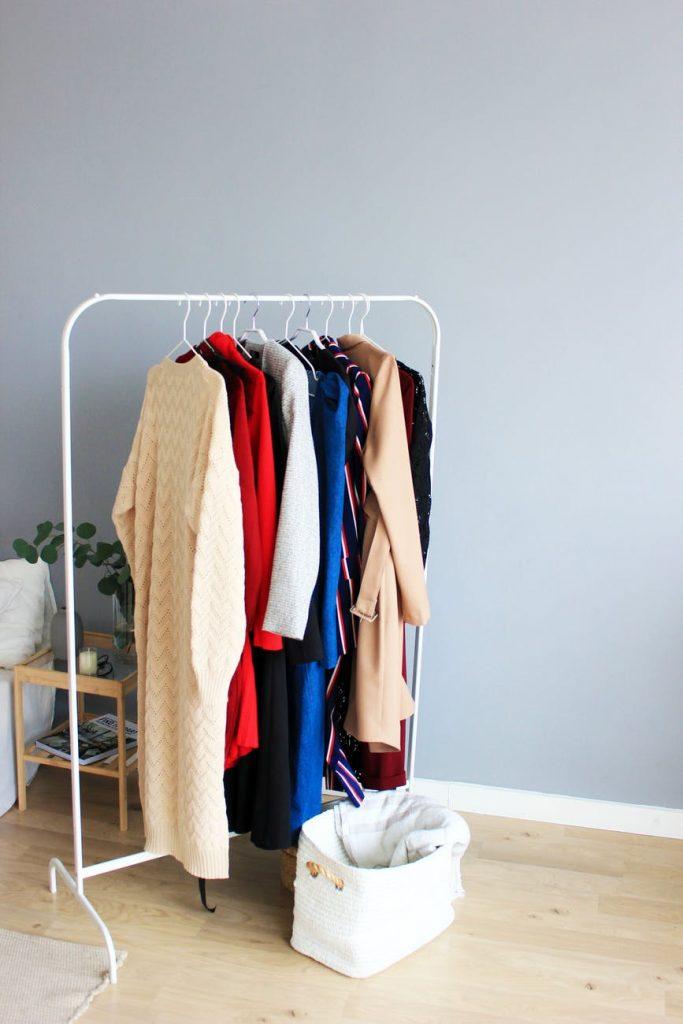 Одежда, которую необходимо сдать на хранение