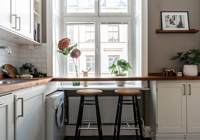 Удобная планировка на кухне