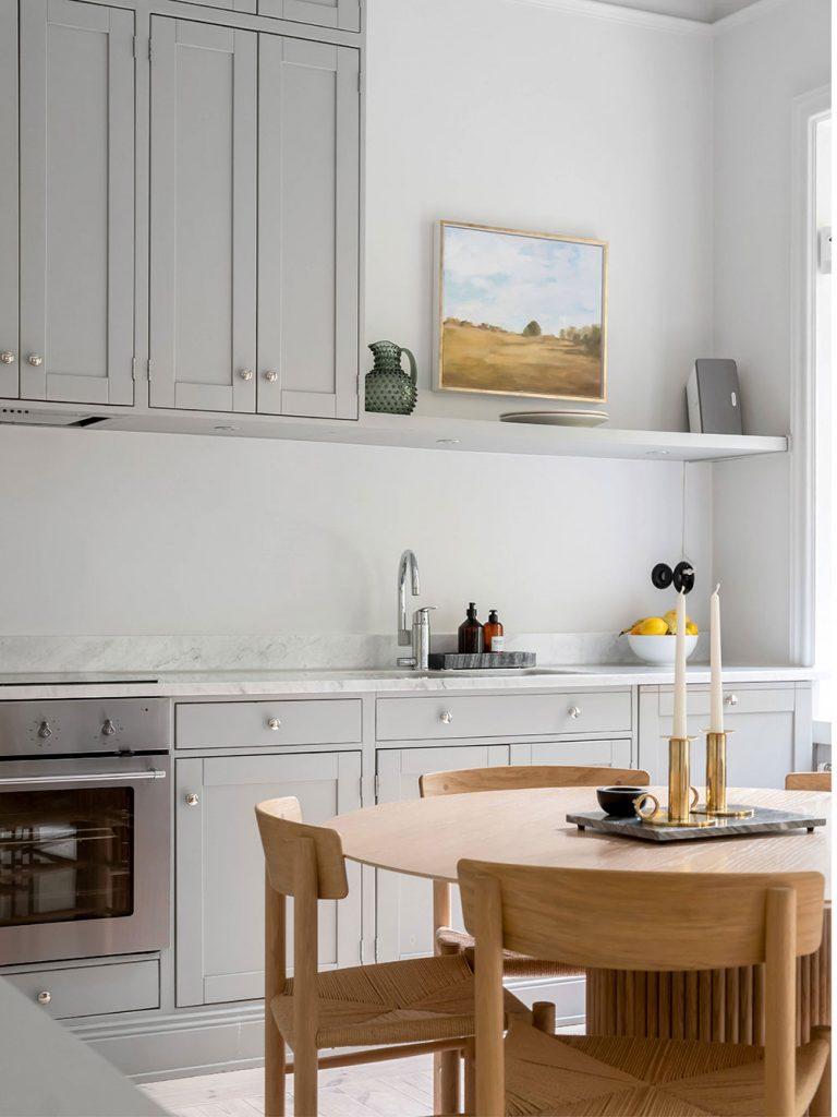 Пространство около кухонной мойки