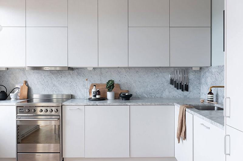 Современное кухонное пространство