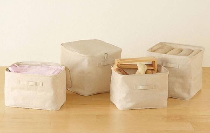 Мягкие (тканевые) ящики для хранения вещей