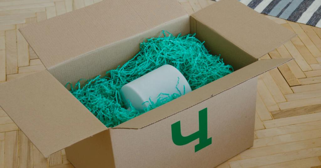 Фирменная коробка Чердака для упаковки вещей