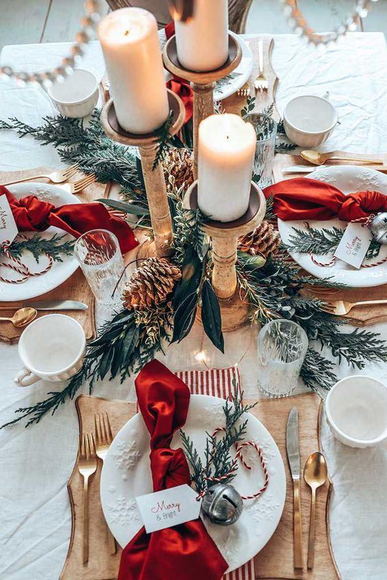 Грамотная сервировка новогоднего стола