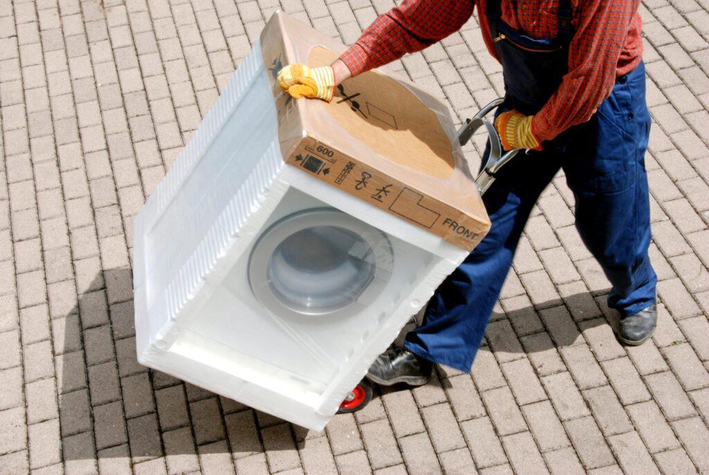 Тележка для перевозки стиральной машины
