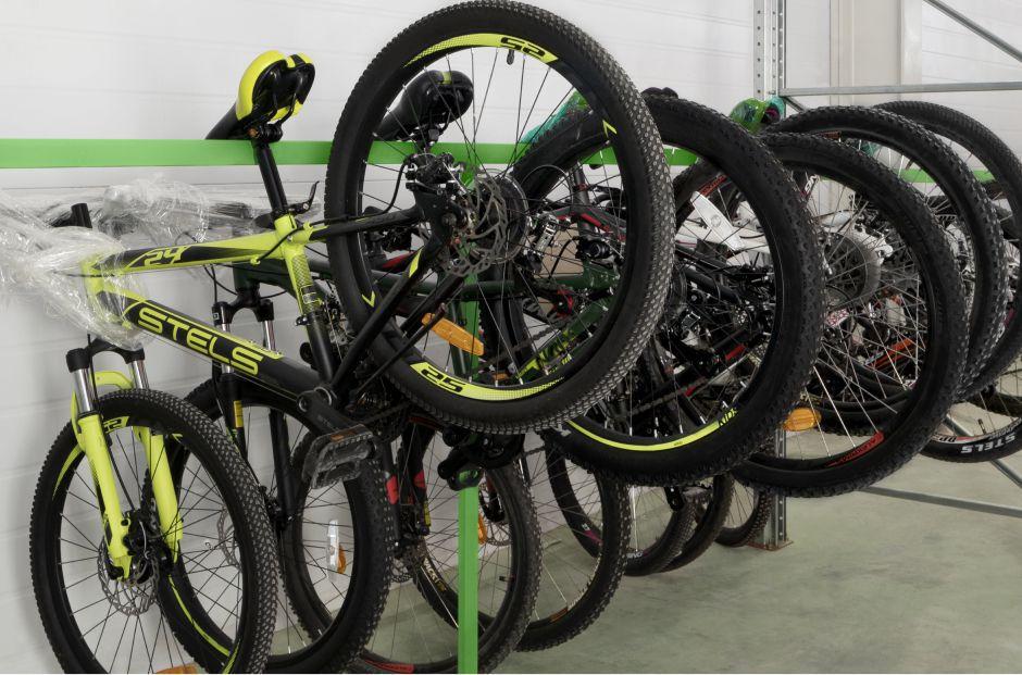 Хранение велосипедов на тёплом складе Чердака с соблюдением всех необходимых условий