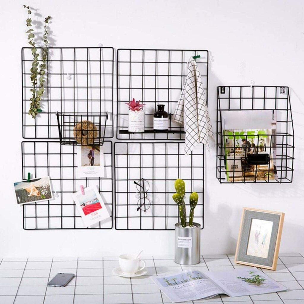 Хранение различных аксессуаров и мелких вещей на стене