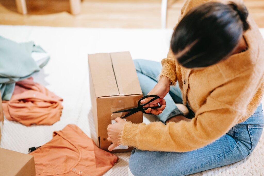 Упаковка вещей для малогабаритного переезда